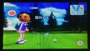 Miyu in Golf