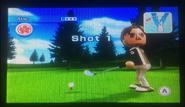 Abe in Golf