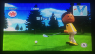 Steph in Golf