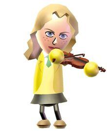 Suzanne violin