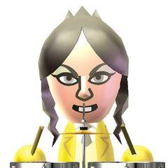 Eva in an official Wii Music artwork.