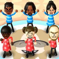 Eva in Swap Meet with Sarah, Midori, Ian, Sota, and Alex.
