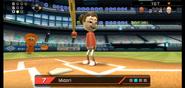 Midori in Baseball