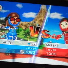 Another photo of Misaki In Swordplay Duel.