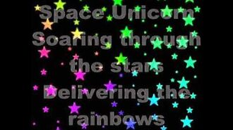 Space Unicorn (by Parry Gripp) with lyrics