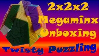 2x2x2 Megaminx Unboxing & 1st Impressions (Stick to your day job, Witeden..