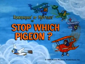 Wr dm stop which pigeon