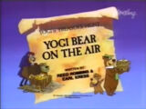 Yogi Bear on the Air