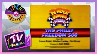 1991 - Disney Channel - Jump, Rattle & Roll - Fender Bender 500 - Philly Freedom 500