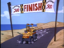 The Clambake 500 Finish