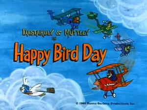 Wr dm happy bird day