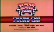 Pound for Pound 500 Title Card