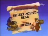 Secret Agent Bear