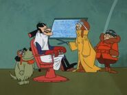 Dastardly and Muttley ep2, in the barber
