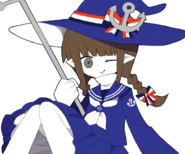 Wadanohara and staff