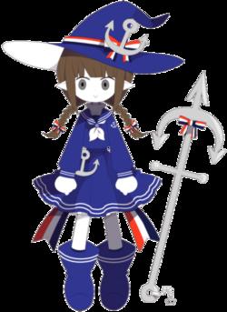 Wadanohara character art