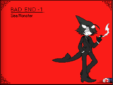 Bad End 1 - Sea Monster