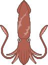 Squid sprite