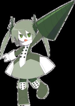 Helica character art