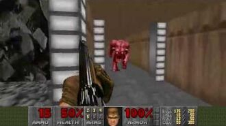 Doom (1993) - E2M7 Spawning Vats 4K 60FPS