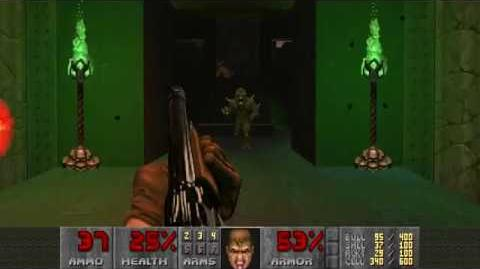 Doom II (1994) - MAP11 Circle of Death 4K 60FPS