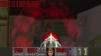 Doom II (1994) - MAP04 The Focus 4K 60FPS