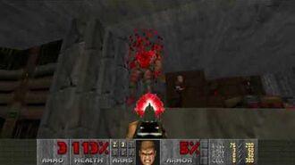 Doom II (1994) - MAP02 Underhalls 4K 60FPS