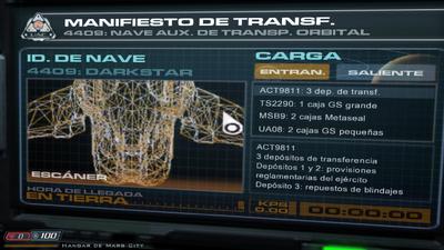 D3 DarkStar carga E