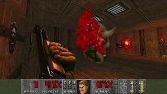 Doom (1993) - E2M5 Command Center 4K 60FPS