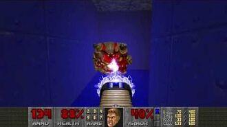 Doom II (1994) - MAP25 Bloodfalls 4K 60FPS