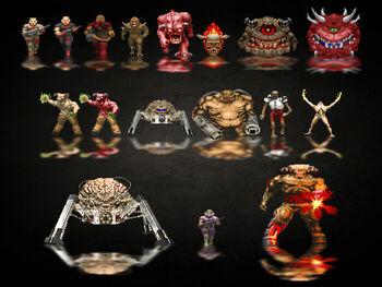 Monstruos Doom