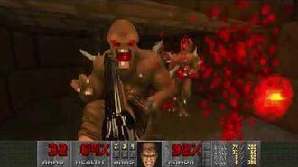 Doom II (1994) - MAP05 The Waste Tunnels 4K 60FPS