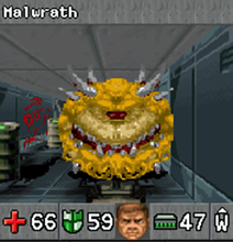 DoomRPG Malwrath