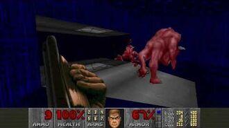 Doom II (1994) - MAP24 The Chasm 4K 60FPS