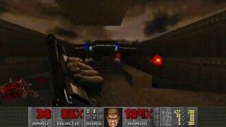 Doom II (1994) - MAP03 The Gantlet 4K 60FPS