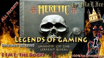 Heretic - Nivel E1M1 The Docks