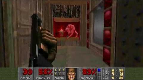 Doom (1993) - E3M4 House of Pain 4K 60FPS
