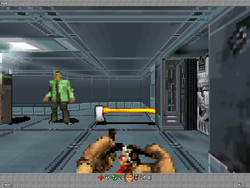 DoomRPG Hacha