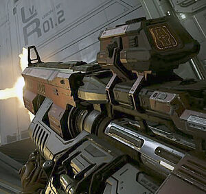DE Fusil pesado