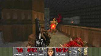 Doom (1993) - E1M7 Computer Station 4K 60FPS