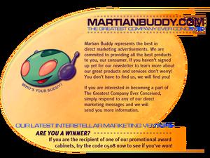 D3 Martian Buddy