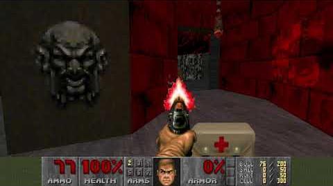 Doom (1993) - E3M1 Hell Keep 4K 60FPS