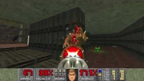 Doom (1993) - E1M4 Command Control 4K 60FPS