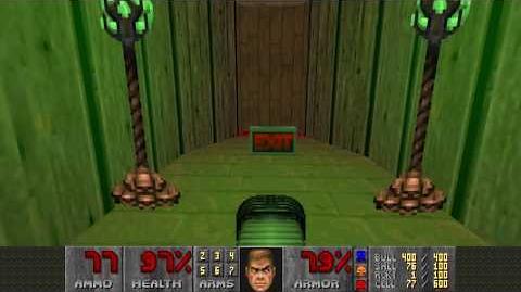 Doom II (1994) - MAP27 Monster Condo 4K 60FPS