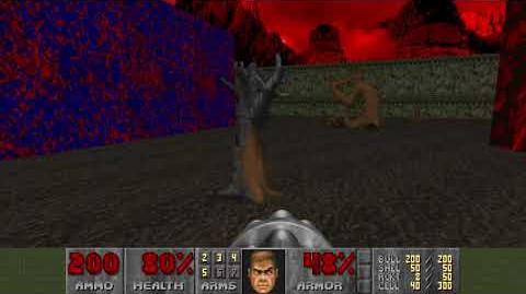 Doom (1993) - E3M6 Mt