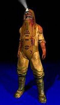 D3RoE Zombi Bio-Suit