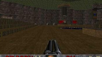 Explosión de barril inofensiva en Final Doom (Plutonia)