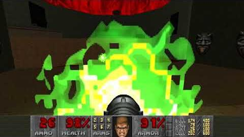 Doom II (1994) - MAP23 Barrels o' Fun 4K 60FPS