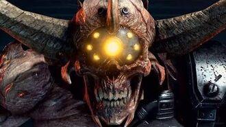 DOOM ETERNAL - Doom Hunter Reveal Gameplay (QuakeCon 2019)