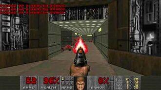Doom II (1994) - MAP01 Entryway 4K 60FPS
